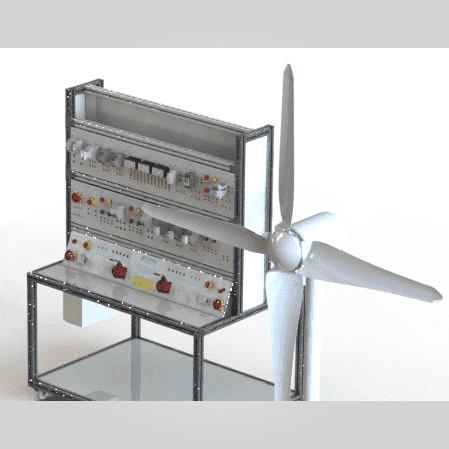 Bancada Didática para Estudo de Geração de Energia Eólica