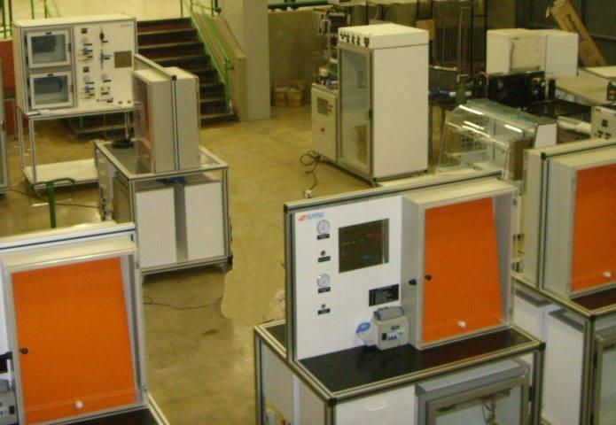 Entrega das bancadas de refrigeração no SENAI de Taguatinga/DF