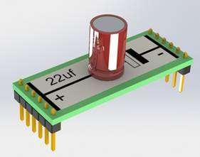 Módulo Capacitor Eletrolítico