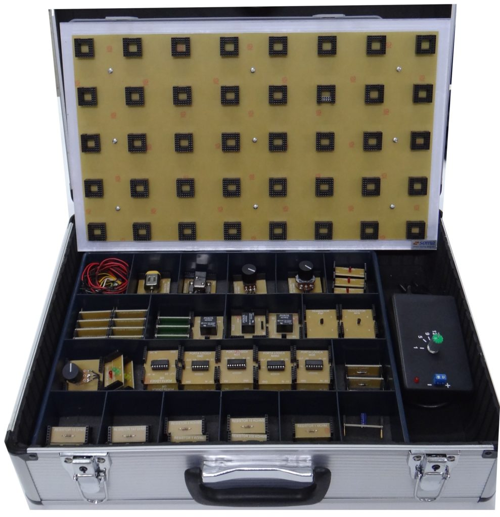Kit Modular Eletrônica Básica - Soma