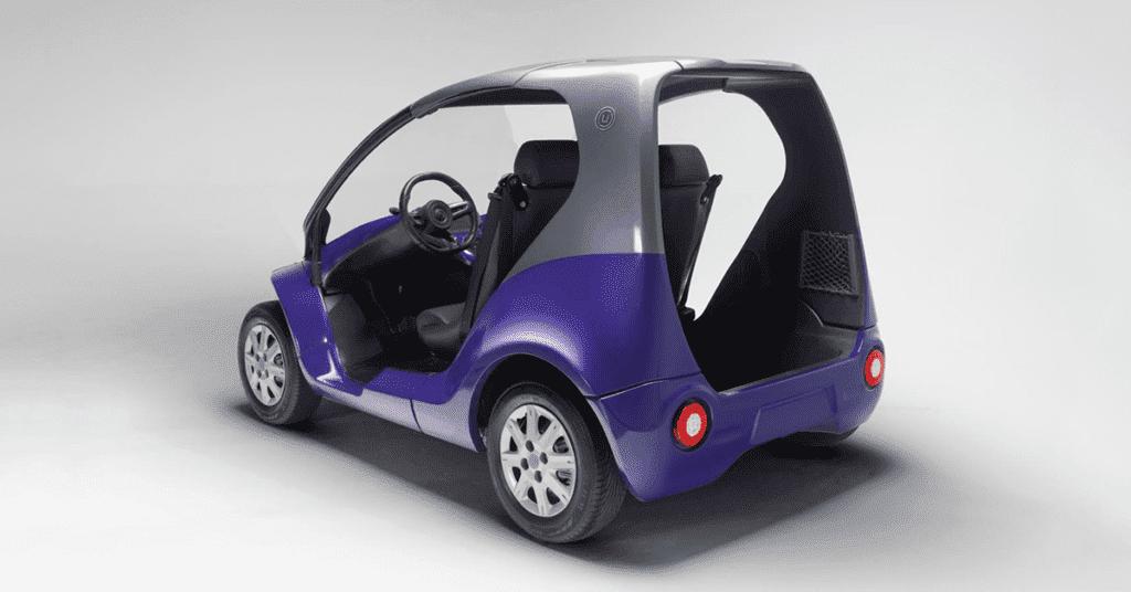 Carro elétrico Mobilis