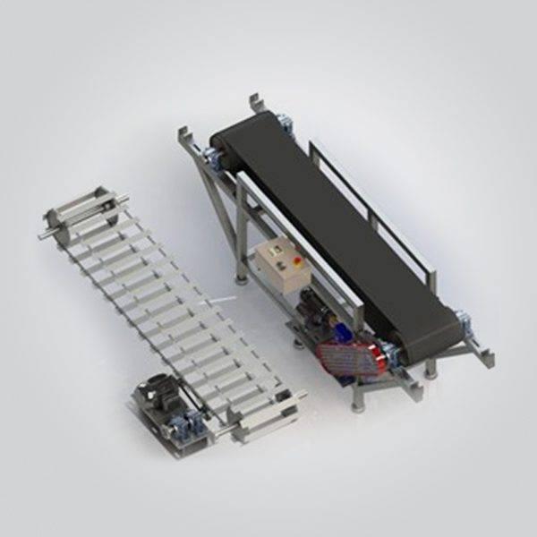 Esteira Transportadora Reversível de Lona e Taliscas
