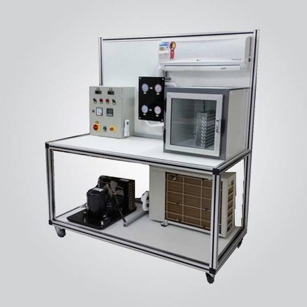 Sistema Didático para Estudo e Treinamento em Refrigeração e Ar Condicionado